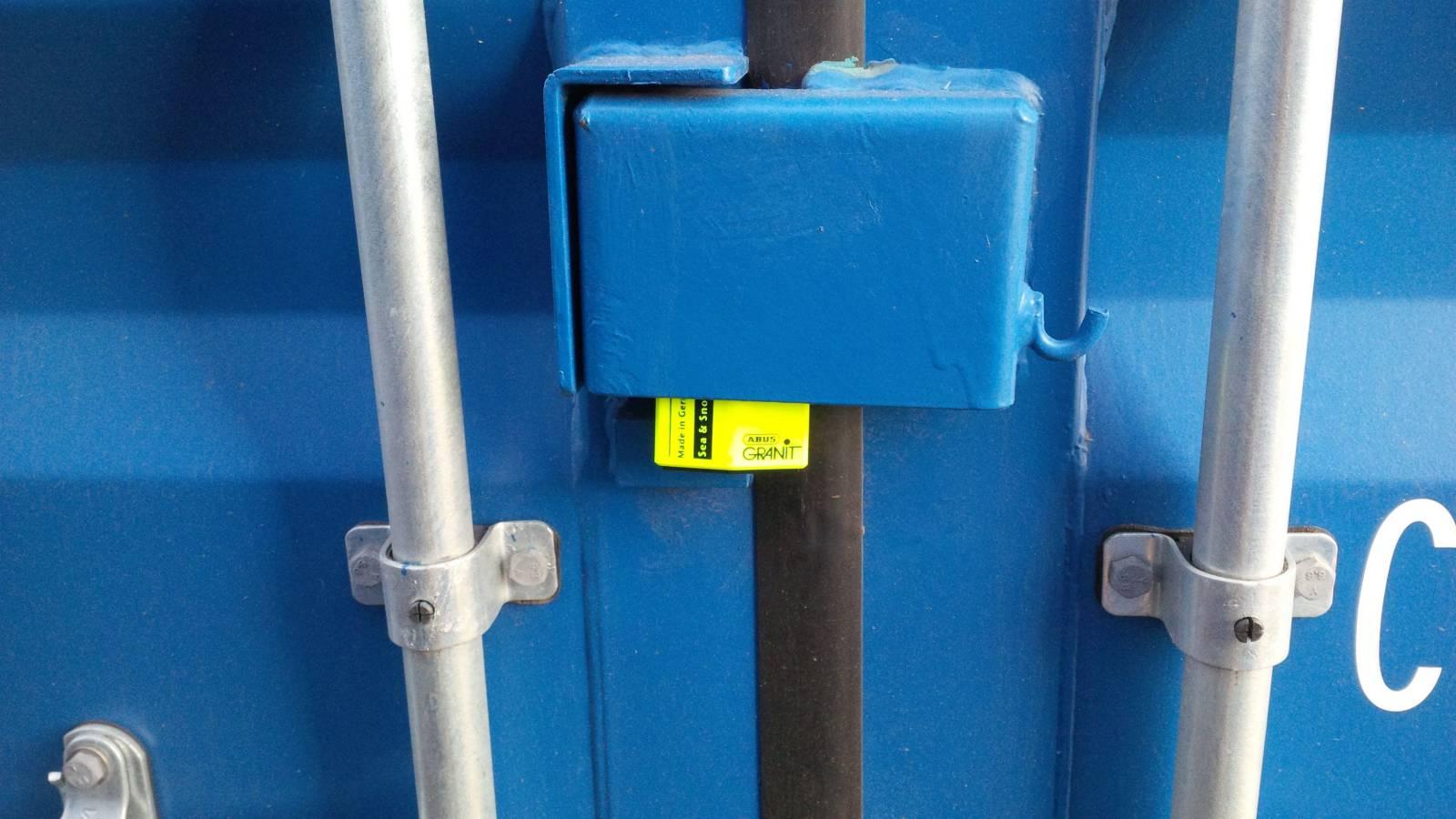 SelfStorage Stapper – Container-Lagerräume – Abus Granti 37/55 an Schlossbox 1, Self-Storage, Self Storage, Lagerraumvermietung