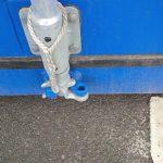 SelfStorage Stapper – Container-Lagerräume – Nettetal-Lobberich – Türstange mit Öse, Self-Storage, Self Storage, Lagerraumvermietung