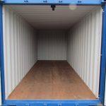 SelfStorage Stapper - Container-Lagerräume - Nettetal-Lobberich - 14 m² Abteil - Innenansicht, Self-Storage, Self Storage, Lagerraumvermietung