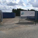 Self Storage Stapper Container Lageräume Nettetal Lobberich Einfahrt